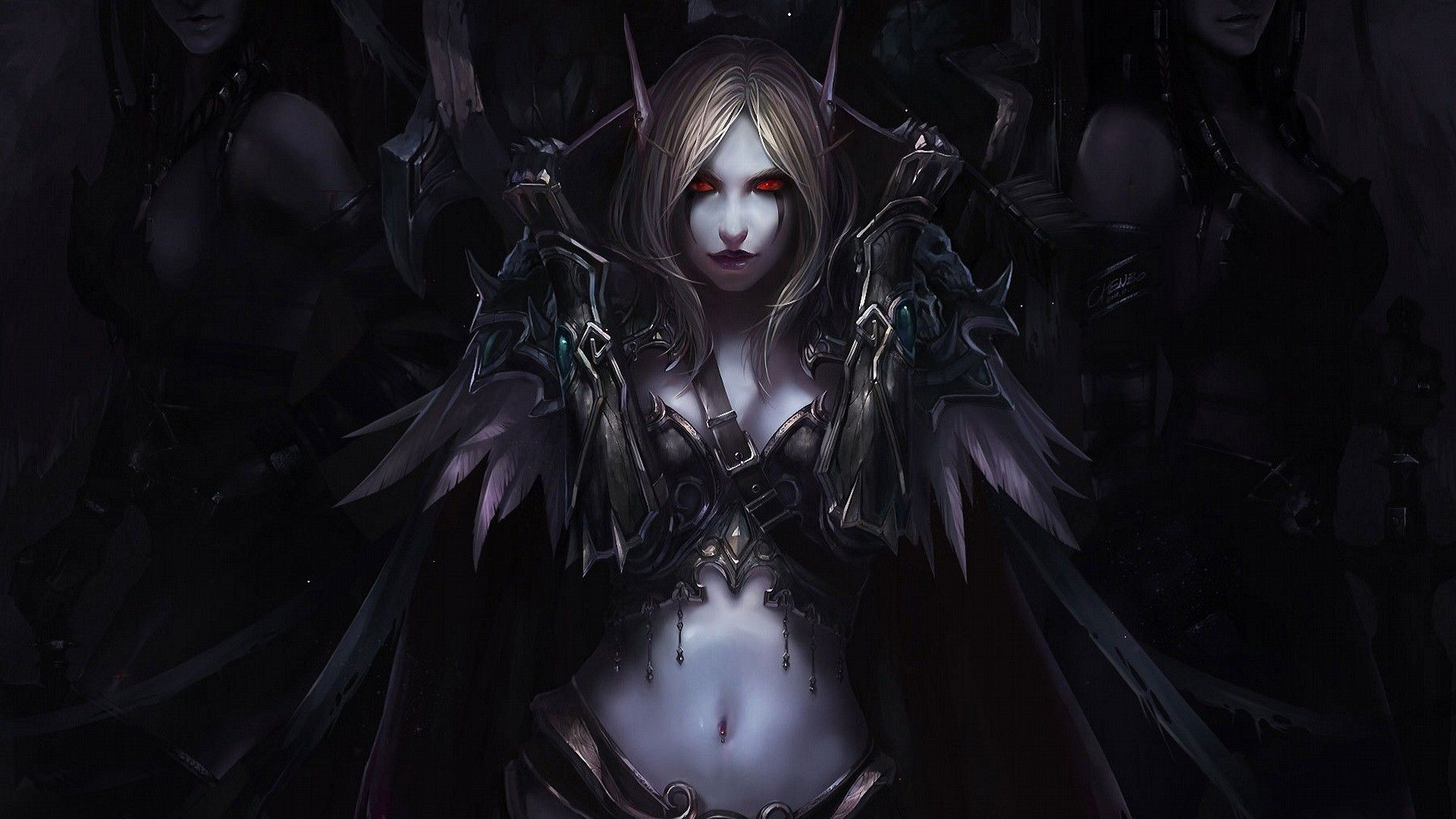 sylvanas windrunner, world of warcraft warchief,